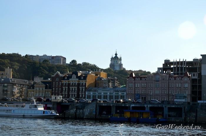 речная прогулка Киев