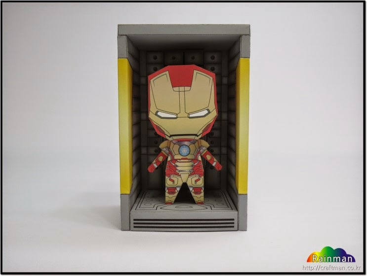 Mini Hall of Armor Papercraft