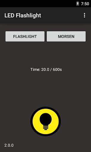 LED Flashlight Morse code