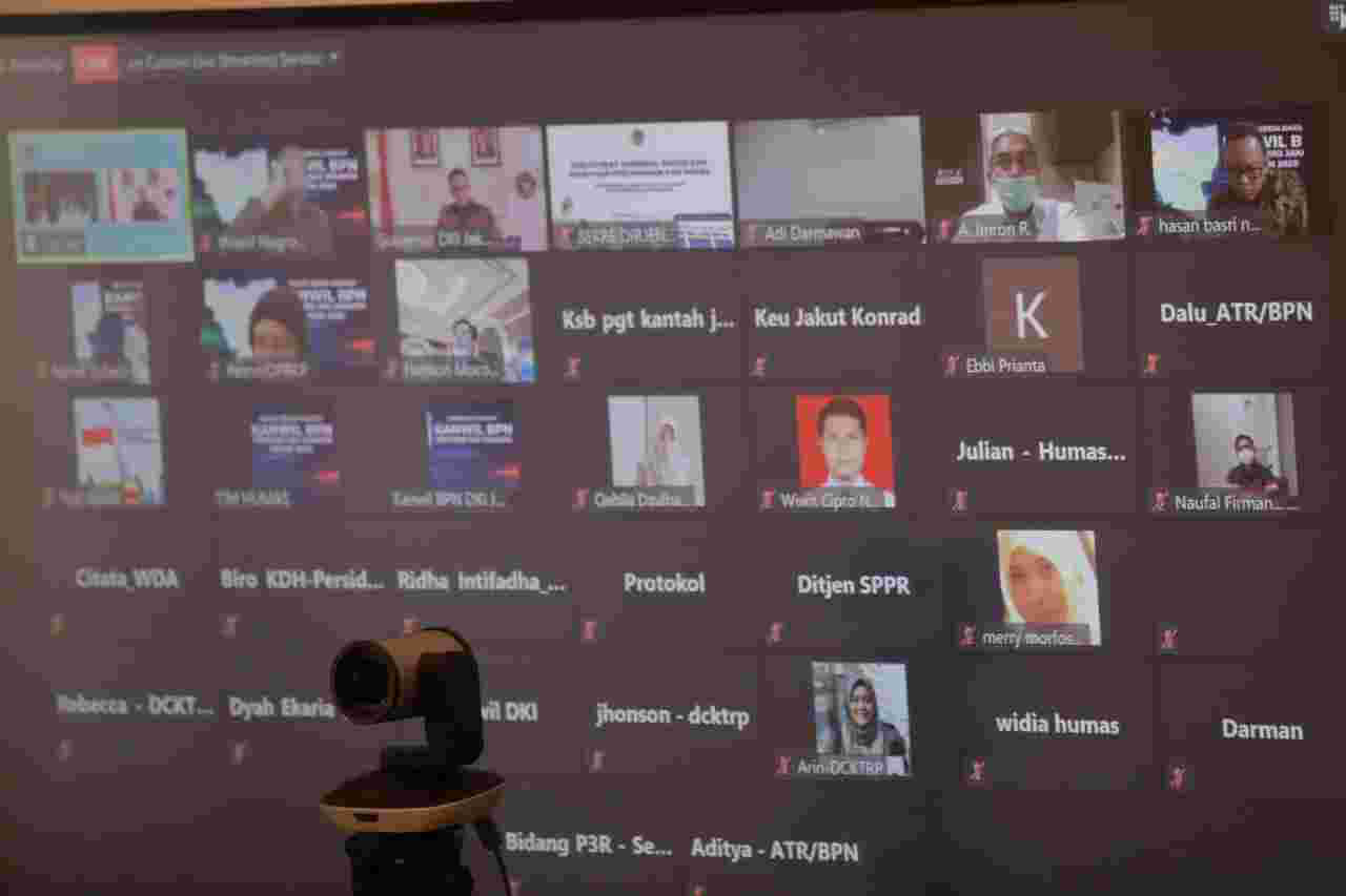 Hadiri Rakerda Kementerian ATR, Anies Tegaskan Komitmen Pemprov DKI Jakarta Dalam Integrasi Data Pertanahan