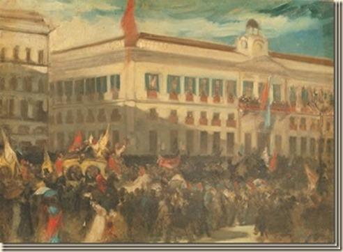 Manifestación del pueblo de Madrid en la Puerta del Sol durante la revolución de 1868, obra de J. Casado del Alisal_thumb[2]_thumb[1]