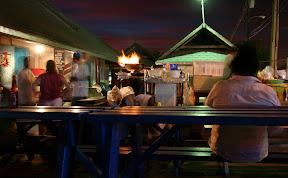 Dinner at Oistins market