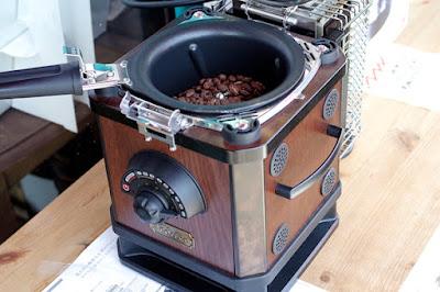 おすすめ商品:OTTIMOコーヒービーンロースター:家庭用電動焙煎機