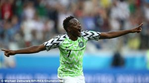 Wolves Enter Race for Ahmed Musa