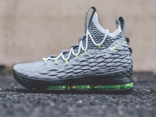 info for 44800 6ace9 Nike LeBron Watch 15 Chapter 4 is Inspired by Air Max 95 ...