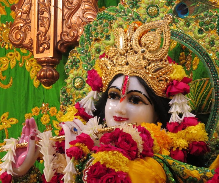 ISKCON Vallabh vidhyanagar Deity Darshan 11 jan 2017 (10)