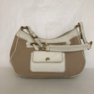 Prada Canvas Shoulder Bag