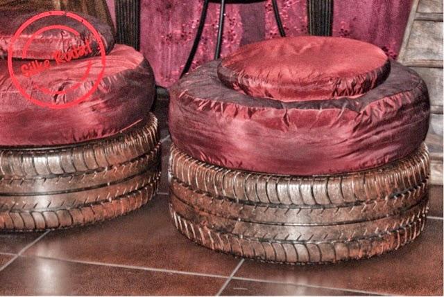 silke rudat der deutsche blog hocker aus alten autoreifen. Black Bedroom Furniture Sets. Home Design Ideas
