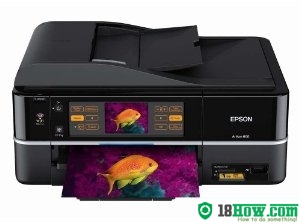 How to Reset Epson Artisan 800 flashing lights error