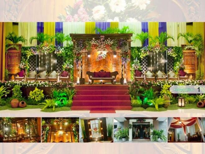 dekorasi pernikahan kebon hijau