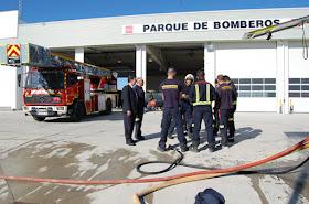 Abre el parque de bomberos de la Comunidad en Valdemoro