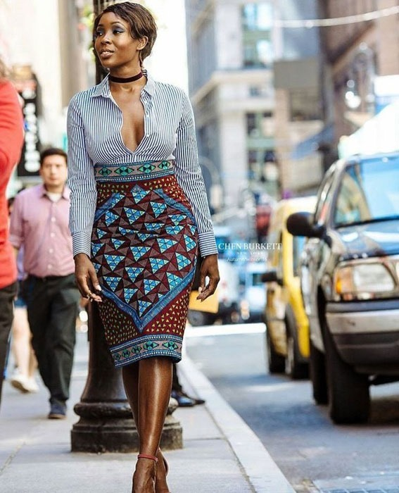 new short ankara gown styles (5)