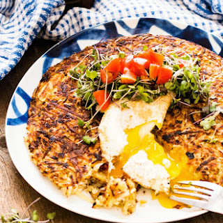 Pizza Stuffed Potato Rosti Recipe