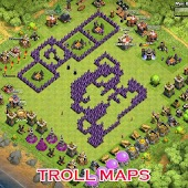 Funny Troll Maps For COC