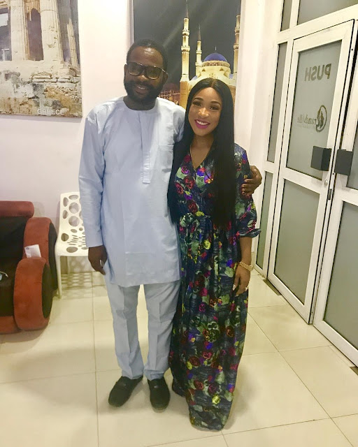 Tonto Dikeh Celebrates Her New Body As She Take Picture With Her Surgeon