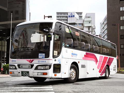 西鉄高速バス「フェニックス号」続行便 5983