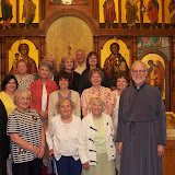 Visitors from St. Mary's Church, Corning, NY