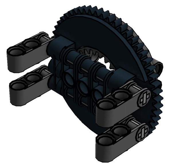 Planetary Geared Wheel 01