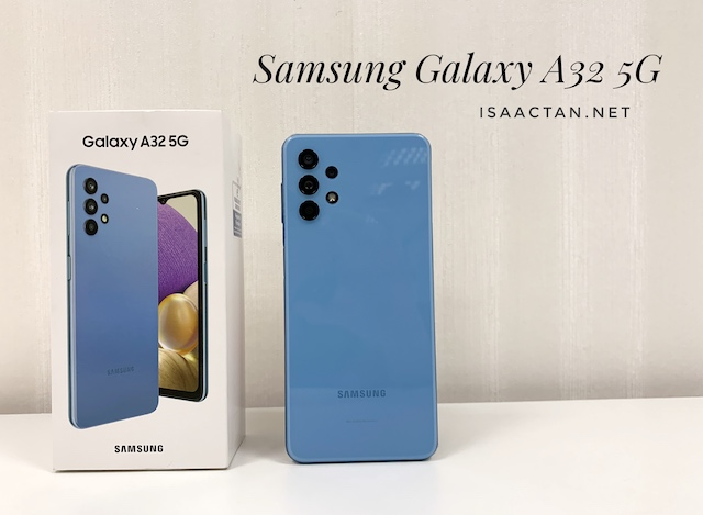 Unboxing & First Impressions: Samsung Galaxy A32 5G