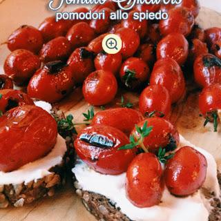 Tomato Bruschetta Skewers