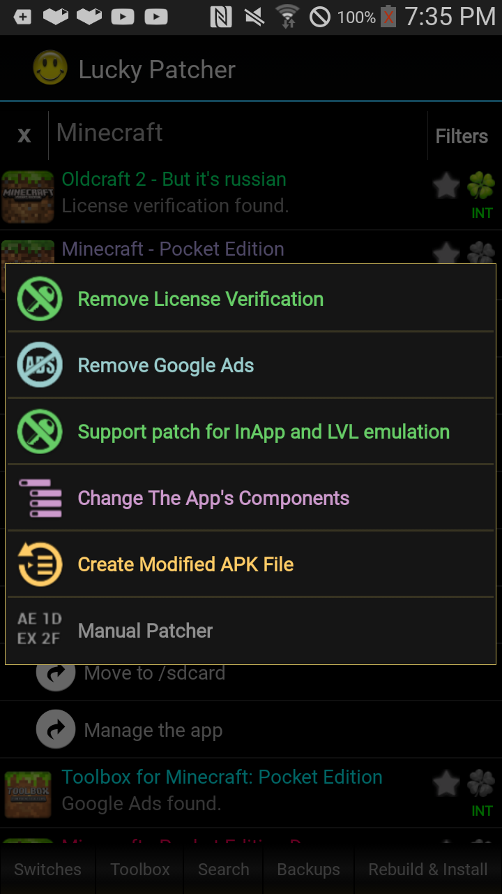 скачать lucky patcher 6.4.6