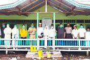 Kanit Bimas Polsek Sebangki Monitoring Dan PAM Pelaksanaan Test Swab Antigen di MTS Babuk Ulum Desa Sungai Segak