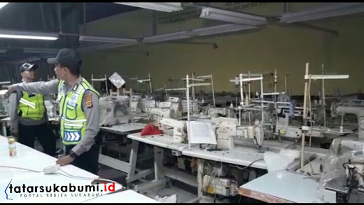 Tidak Sanggup Bayar Buruh, Mesin Pabrik Garment di Sukabumi di Lelang