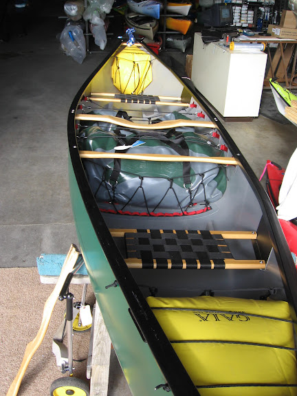 Outfitting a Whitewater Canoe - Alder Creek