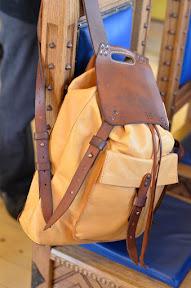 Кожаный рюкзак ручной работы № 151-B KOT
