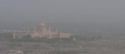 La actual residencia del marajá de Jodhpur.