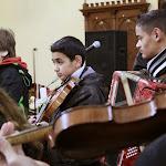 A zeneiskola adventi koncertje templomunkban_2013