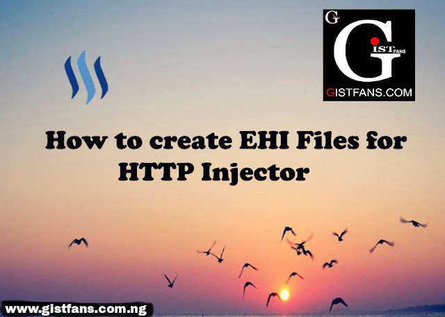How to create EHI file for HTTP Injector.