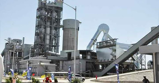 Aliko Dangote $300m cement plant commissioned in congo brazzaville.