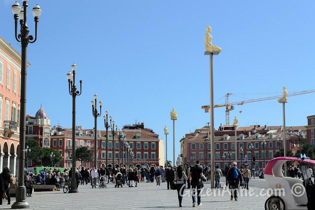 Nice'teki Massena meydanı