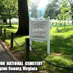 Arlington National Cemetery Arlington County, Virginia