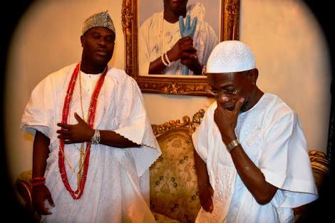 OONI BEGS ILESHA PEOPLE TO FORGIVE OUT GOING GOVERNOR RAUF AREGBESOLA