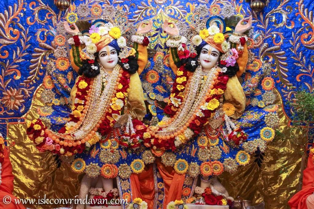 ISKCON Vrindavan Sringar Deity Darshan 03 Feb 2016 (10)