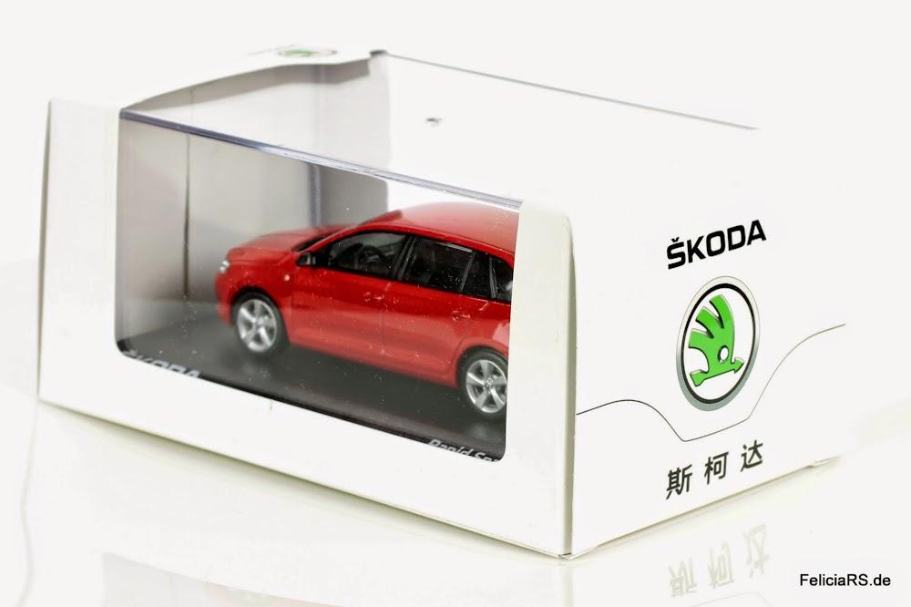Skoda Rapid Spaceback 1:43 Shanghai Volkswagen/Abrex