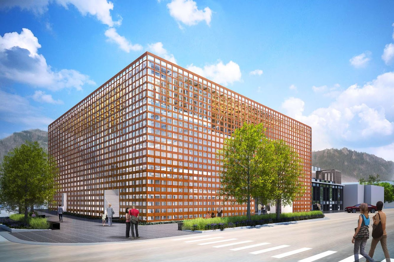 Aspen, Colorado, Stati Uniti: New Aspen Art Museum by Shigeru Ban Open Next Summer