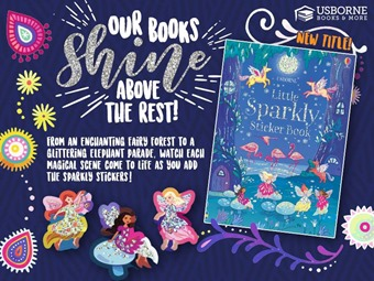 Fall 2018 - Mid Season New Titles - LIttle Sparkley Sticker Book