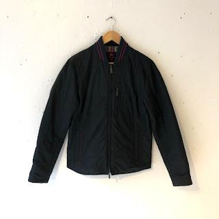Etro Geometric Navy Blue Jacket
