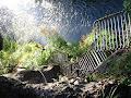 Горнад, ступеньки под Зеленою горою
