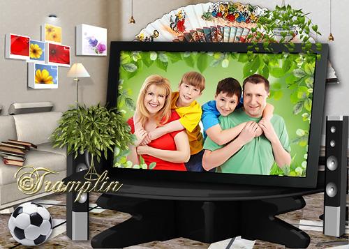 Psd исходник  - Мы в телепередаче