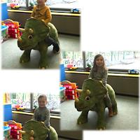 thema dino's 4-jarigen