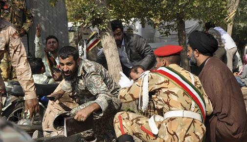 هجوم دام في إيران يوقع 30 قتيلا من الحرس الثوري