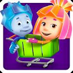Fiksiki Supermarket Shopping Games for Kids Icon