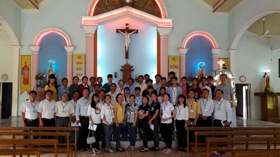 Ngày bồi dưỡng Giáo Lý viên Khối Căn Bản tại Hạt Kim Châu