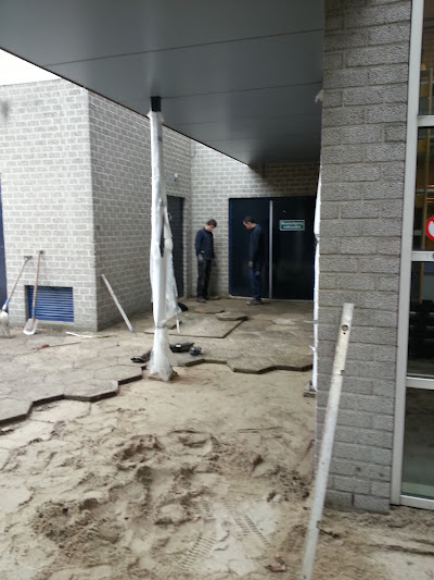 Terreininrichting nieuwbouw d'Oultremontcollege