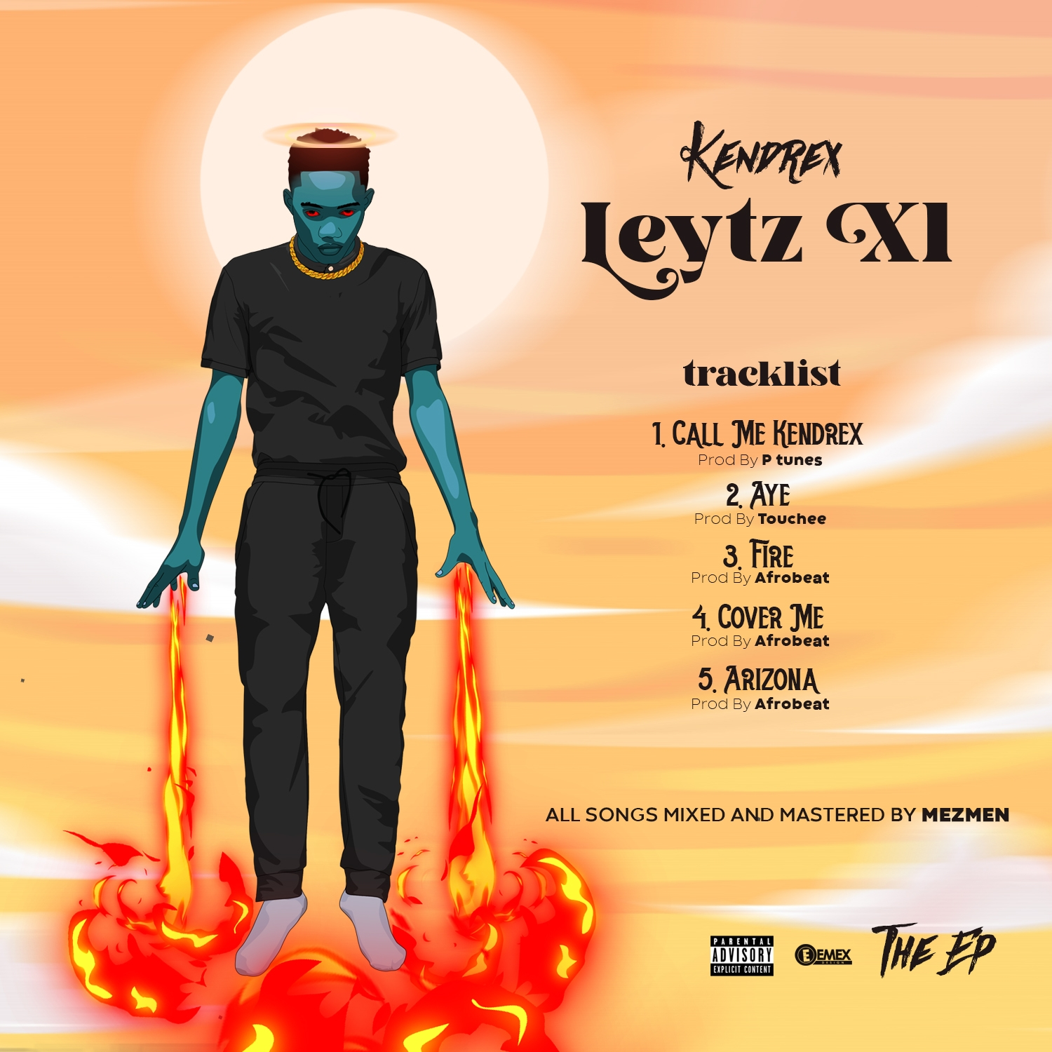 """Kendrex unveil artwork for his upcoming EP project title """"LEYTZ XL"""""""