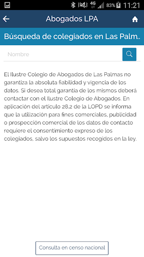 ICALPA Appbogados screenshot 4